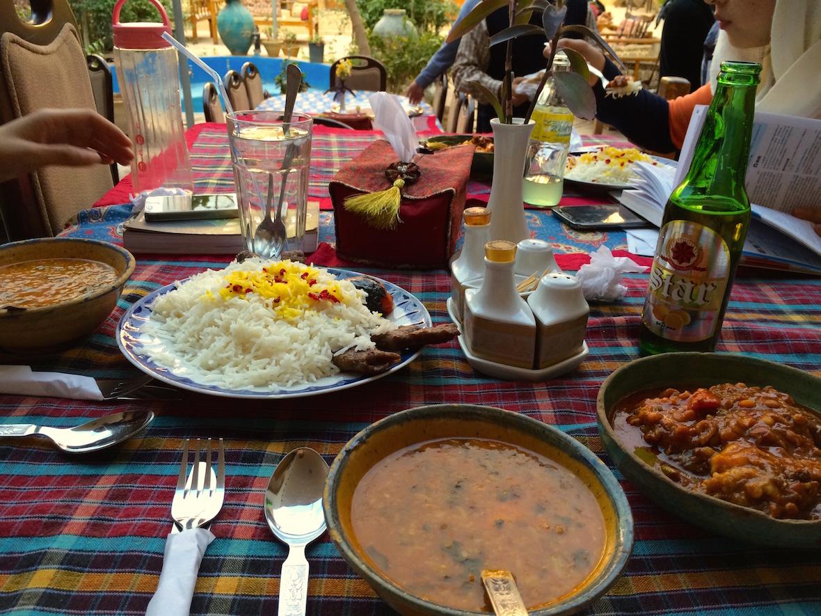 絲路旅店晚餐