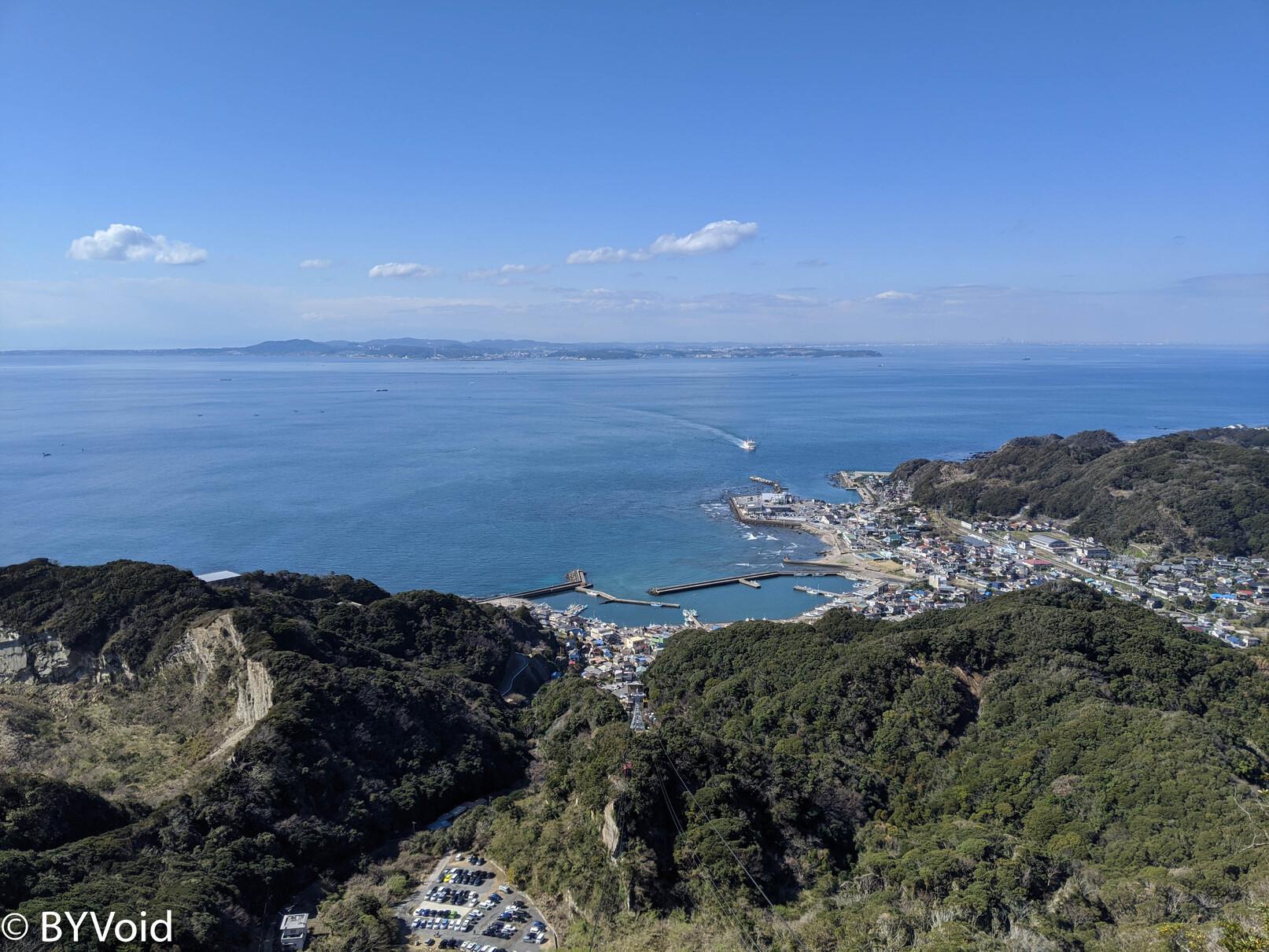 锯山展望东京湾