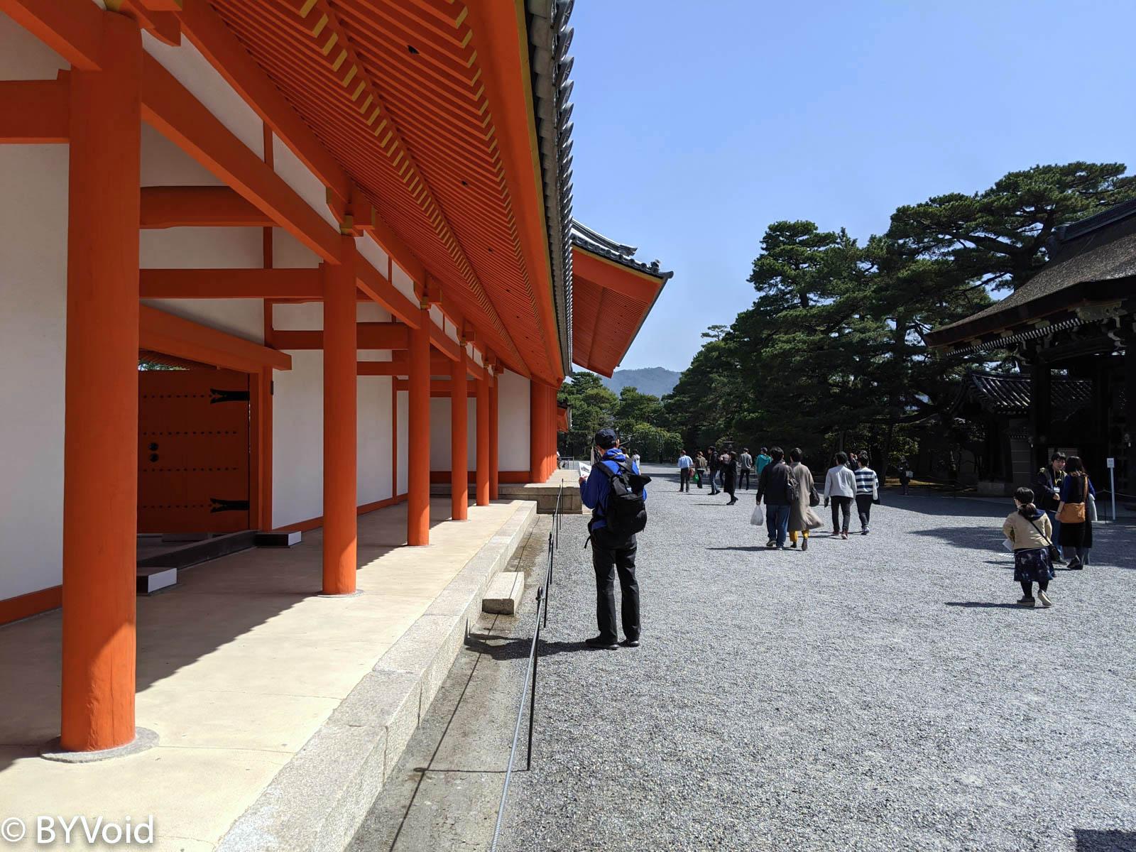 紫宸殿迴廊