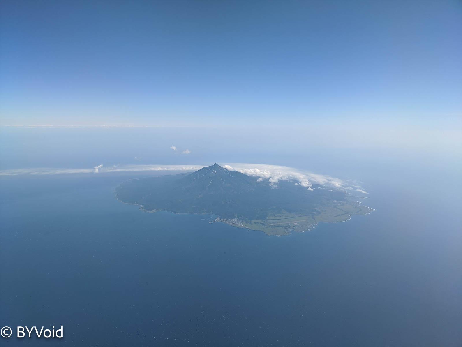 空中利尻島