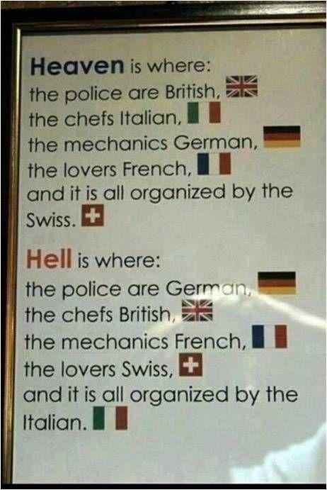 欧洲民族笑话