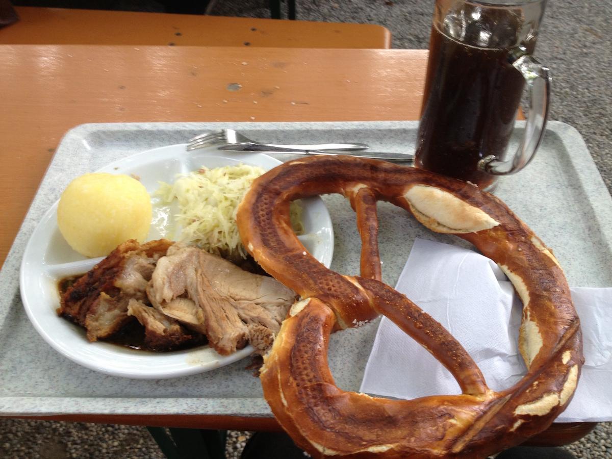 典型的德国菜
