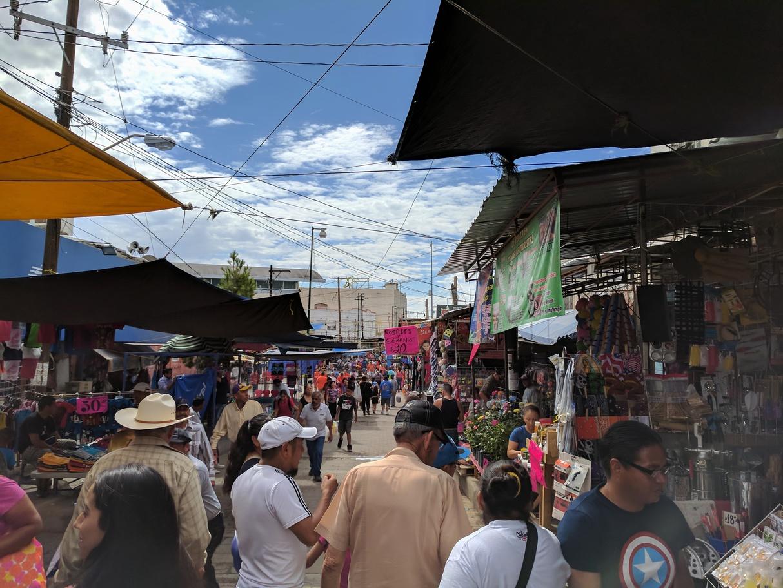 华雷斯城市场