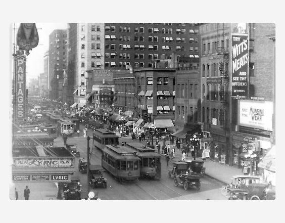 20世纪20年代明尼阿波利斯市中心